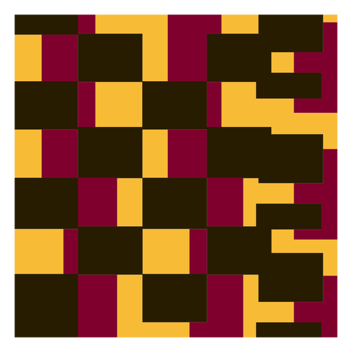 Square kente composition