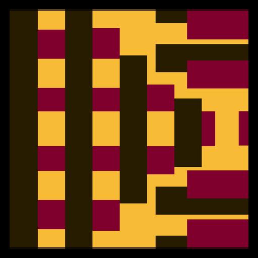 Stripe kente composition