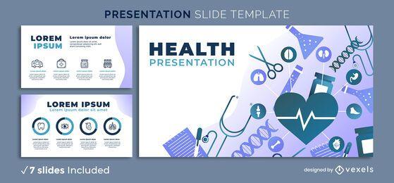 Modelo de apresentação de saúde