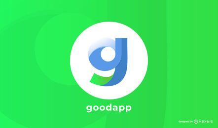 diseño de logotipo de goodapp