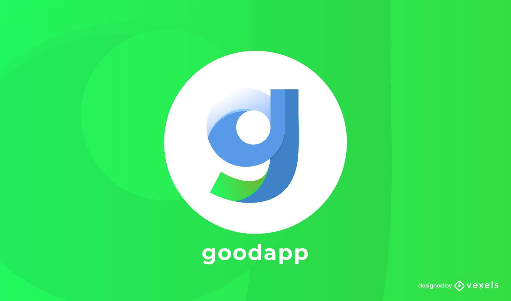 goodapp logo design