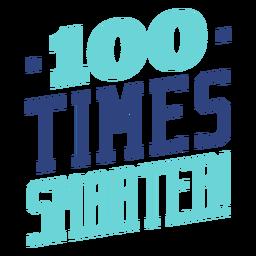 Letras escolares 100 veces más inteligentes