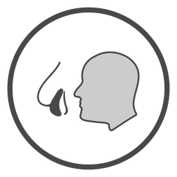Aboard air mask symbol