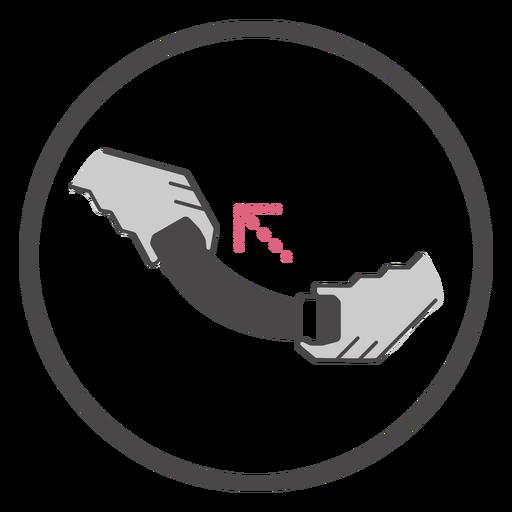 A bordo apriete el símbolo del cinturón de seguridad Transparent PNG