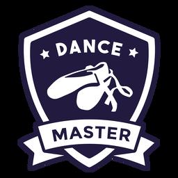 Ballettschuhe tanzen Master Shield Abzeichen
