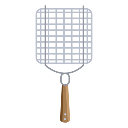 Bbq grill basket vegetable flat Transparent PNG