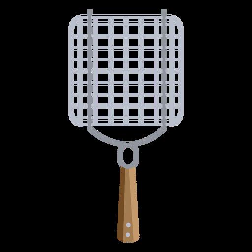 Bbq grill basket vegetable flat