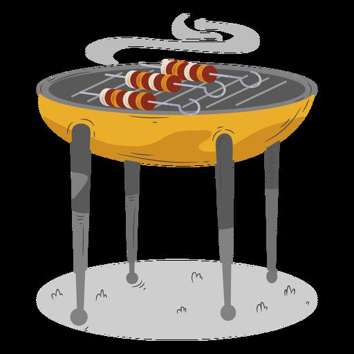 Bbq grill skewer