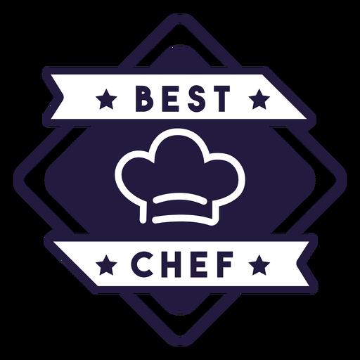 Melhor emblema de diamante de chef