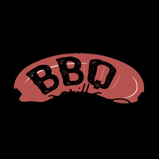 Letras de salchicha de parrilla de barbacoa marrón Transparent PNG