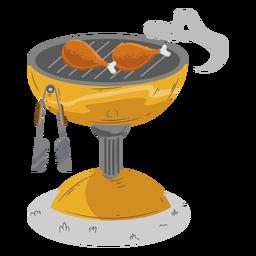 Überprüfen Sie den Drumstick-Grill