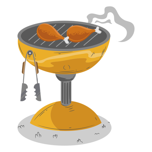 Check drumstick bbq grill Transparent PNG