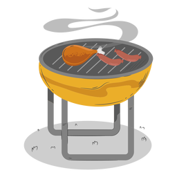 Chicken Drumstick Wurst Grill