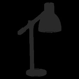 Lámpara de lectura de escritorio clásica silueta