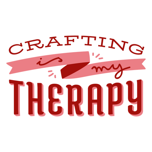 Crafting therapy lettering craft