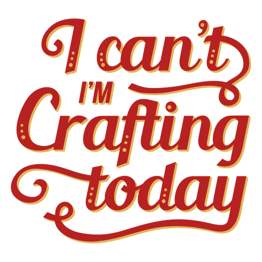 Crafting today lettering craft
