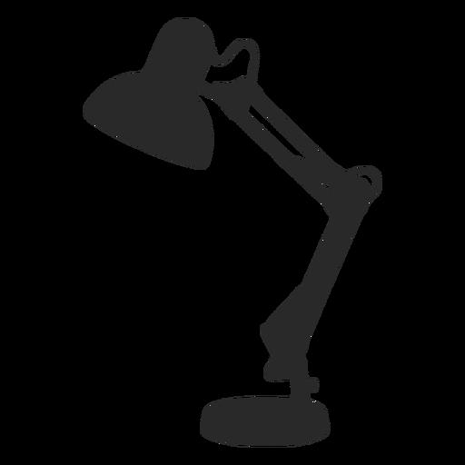 Lámpara de lectura de escritorio silueta clásica
