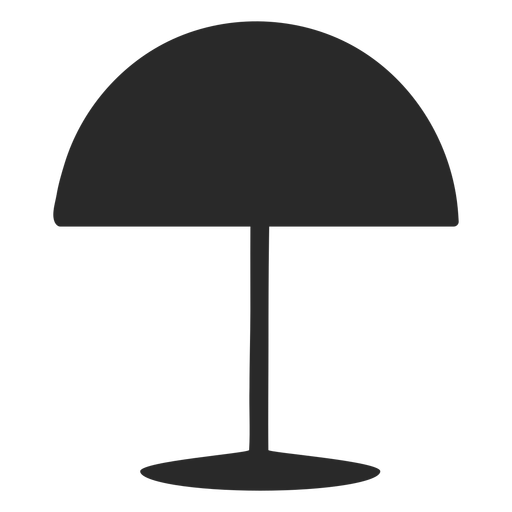 Dome desk reading lamp silhouette Transparent PNG