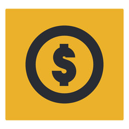 Money dollar sign icon sign