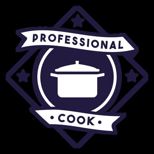Pot professional cook diamond badge