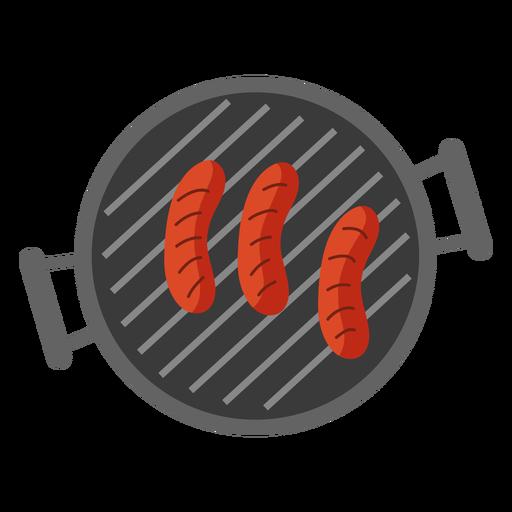 Sausage grill flat