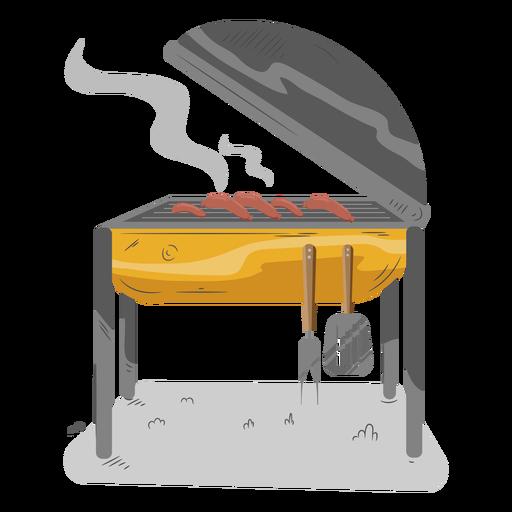 Sausage hot dog bbq grill