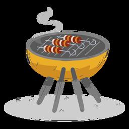 Spieß runder Grill