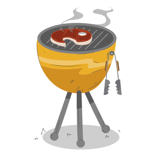 Stead round bbq grill - Transparent PNG & SVG vector file
