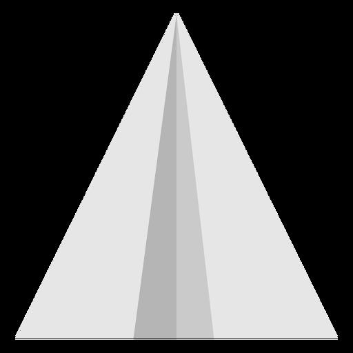 Avión de papel de vista superior plana