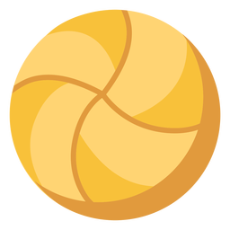 Volleyball ball flat