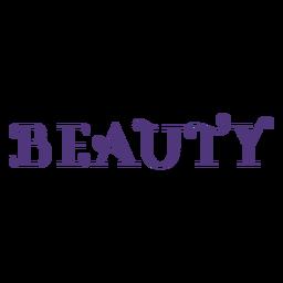 Letras de belleza del día de la mujer