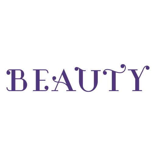 Womens day beauty lettering Transparent PNG