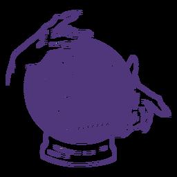Letras femininas do futuro dia da mulher