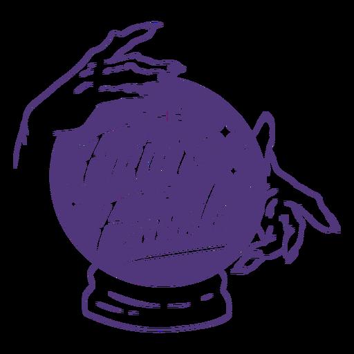 Letras femeninas del futuro del día de la mujer Transparent PNG