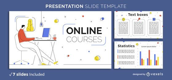 Online Education Presentation Template