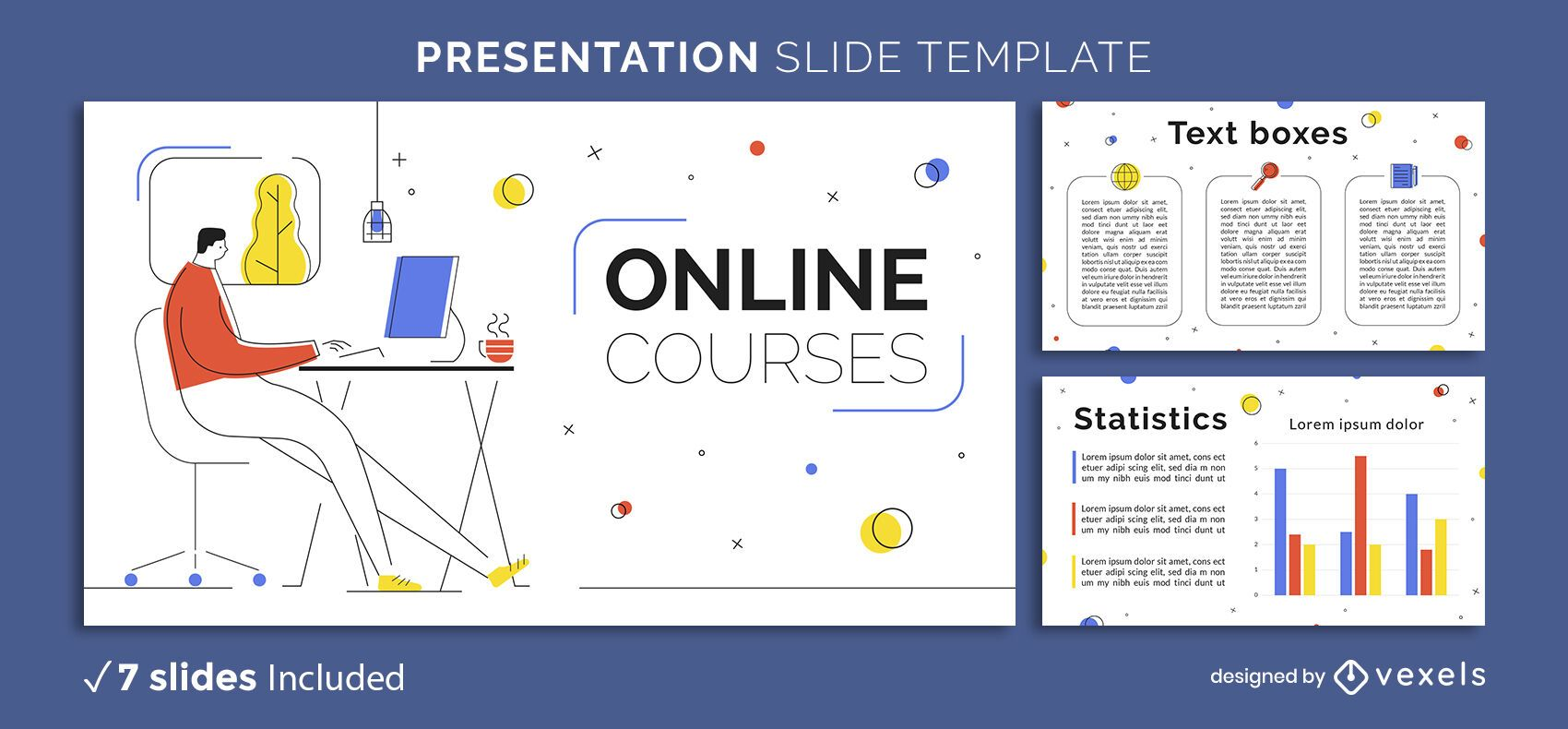 Online Education Presentation Template