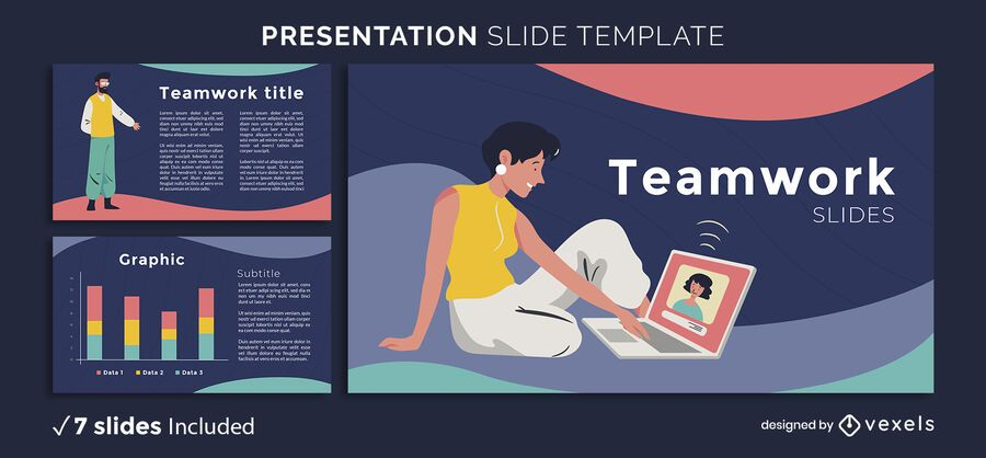 Team Characters Presentation Template