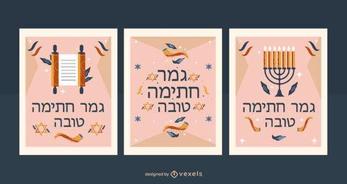 Pacote de convite de Yom Kippur