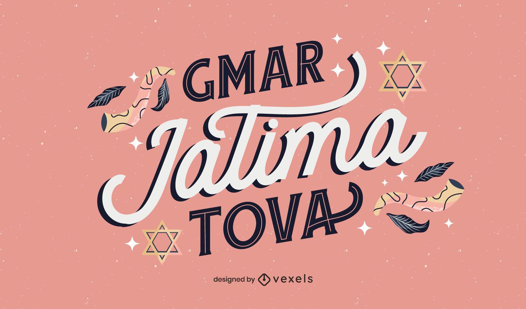 Diseño de letras gmar jatima tova