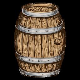 Barril de cerveza ilustración cerveza