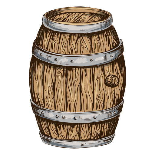 Beer barrel illustration beer