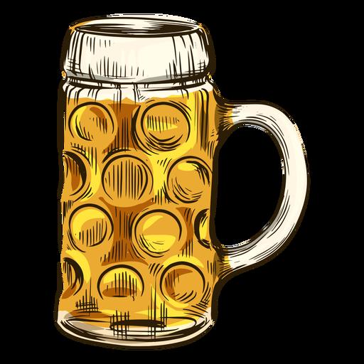 Beer in cool mug