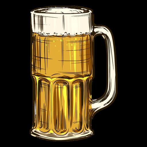 Beer in tall mug