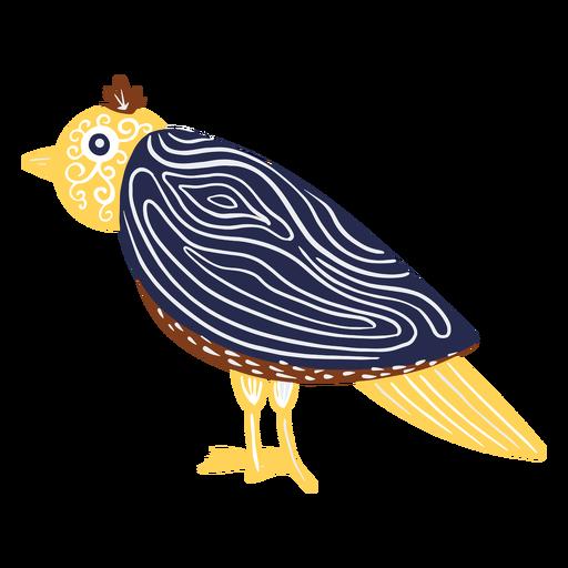 Diseño de ilustración de pájaro de carnaval