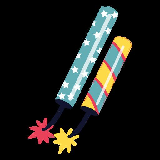 Fuegos artificiales coloridos de carnaval