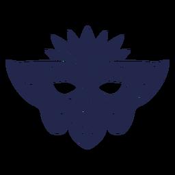 Carnival mask swirls