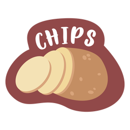 Chips pantry label