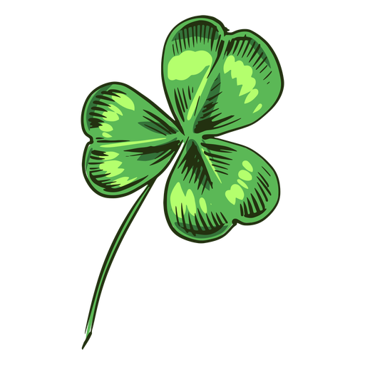 Clover leaf piece Transparent PNG
