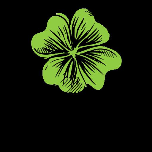 Clover leaf simple Transparent PNG