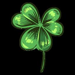 Clover leaf simple piece